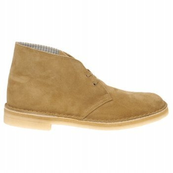 A hybrid between a shoe and a boot, this Clarks desert boot is cool and comfortable in the summer