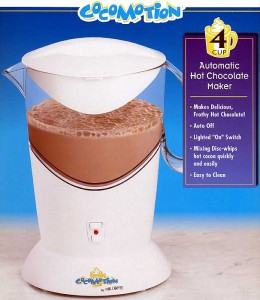 Mr Coffee Cocomotion Hot Chocolate make hc4 4 cup
