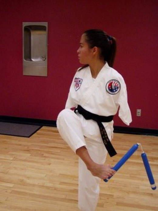 Armless Jessica, despite her handicap, has earned 2 black belts in Tae Kwon Do