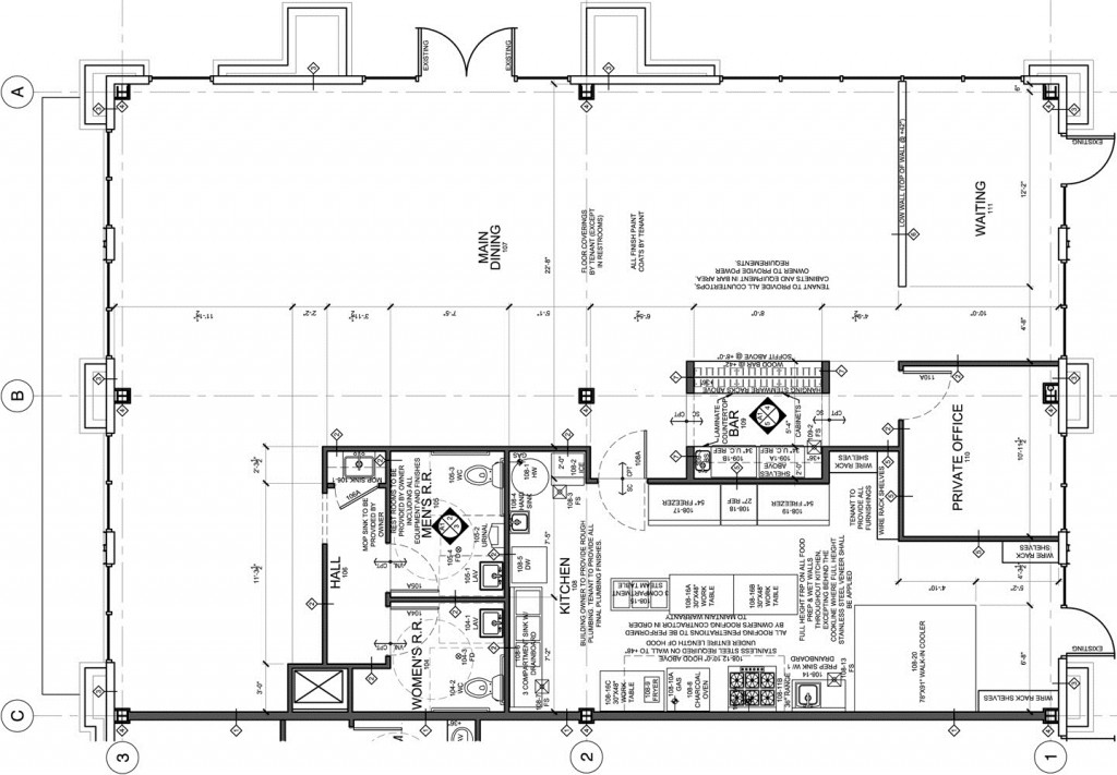 Commercial kitchen floor plan the image for Commercial floor plans