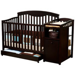 Available at Walmart. Photo credit: walmart.com. Delta Shelby Crib and Changer, Expresso.