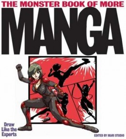 How to draw manga book, draw manga with the monster book of more manga.      Image source - Amazon.com