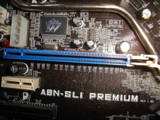 A PCI-Express slot