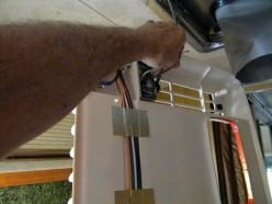 Wiring the ceiling assembly