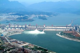 The Chinese Three Gorges Dam has had a huge impact, displacing millions of people, damming the natural flow of the river and causing loss of much farmland upstream.