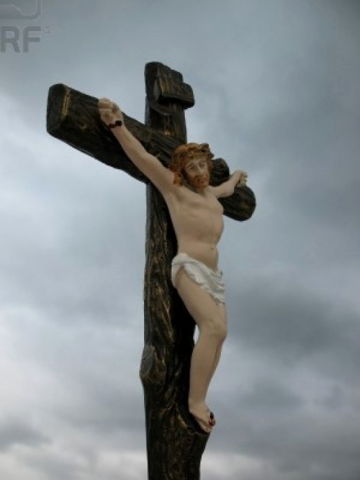 The Romans used crucifixion as a form of torture and one of Rome's victims was Jesus Christ.