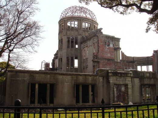 Hell on earth was visited upon Hiroshima in the close of WWII and this building remains as a monument to that moment in history and co9ntinues to hang over our collective heads.