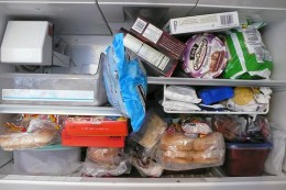 Don't waste your freezer space and always use it
