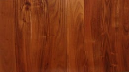 reclaimed black locust flooring.