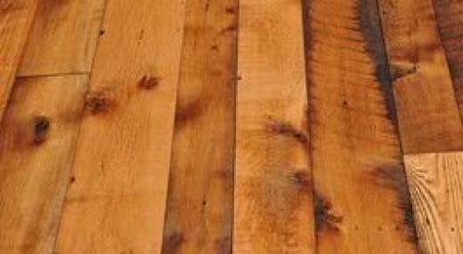 reclaimed oak flooring.