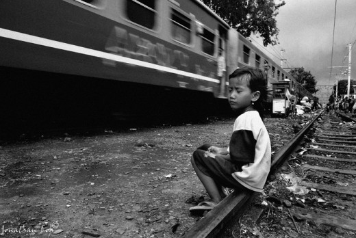 Child in suburbs area, easy target for children trafficking. http://tbelfield.files.wordpress.com
