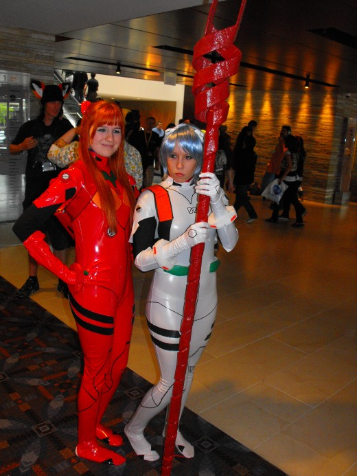 Plugsuit Asuka and Rei