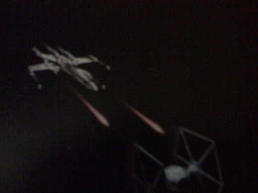 Tie Fighter seconds away from oblivion