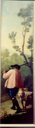 "Goya's ""Hunter with His Dog"""
