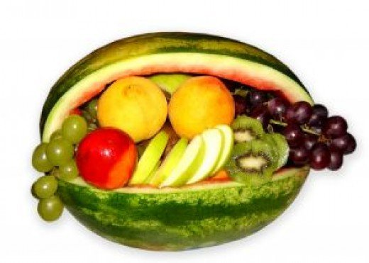 Eating lots of fruits and vegetables can help prevent breast cancer.