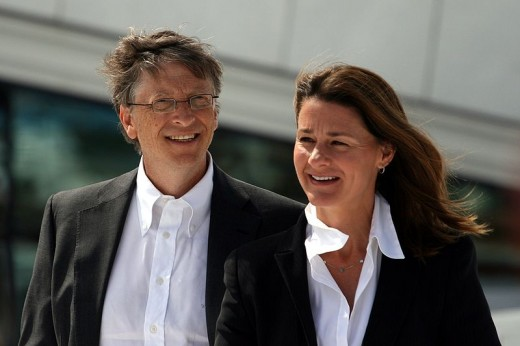 Bill and Melinda Gates - All lives have equal value. Bill and Melinda Gates' donations are awesome and no doubt they are highly appreciated by the poor people who receive them.