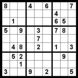 Dynamic image for beginner sudoku printable