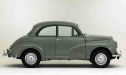 Old morris minor. Also known as the 'moggy minor'