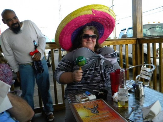 Taken at a Cinco de Mayo party, 5/5/10.  Notice the twins?? lol