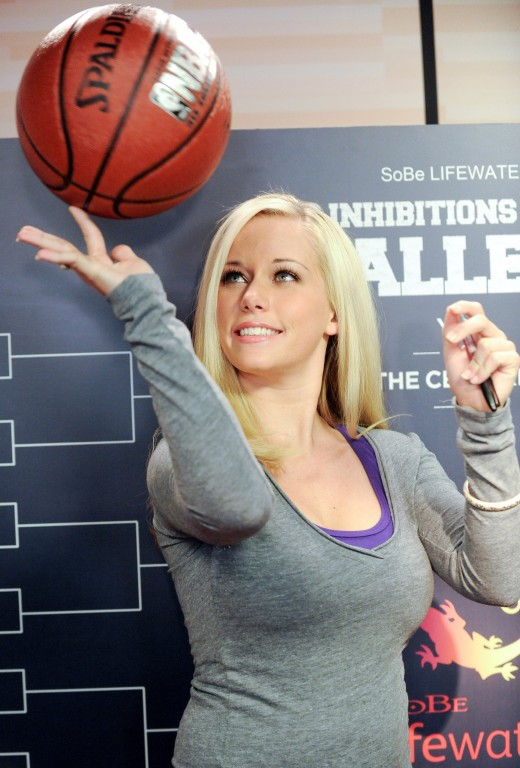 She doesn't really have b-ball skills