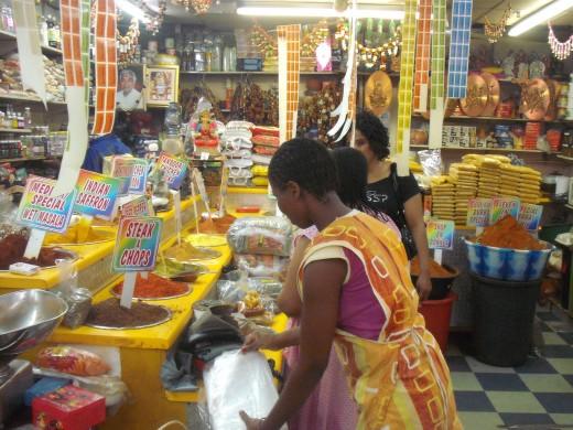 A Durban Spice shop