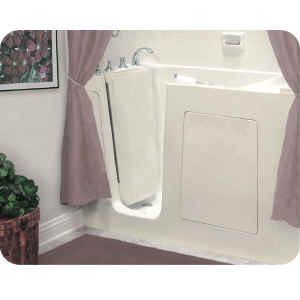 Handicap bathtubs are great for disabled bathrooms.
