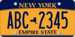 New Orange New York License Plates - Are NY State plates ugly?