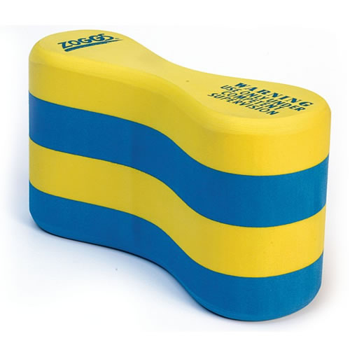 The ZOGGS Easy Grip Pull Buoy is a tried and tested way to increase strength in your legs.