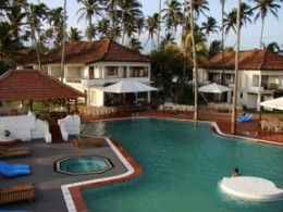 Beautifully designed pool area