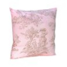 toile throw pillow