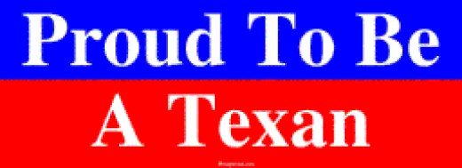 Proud to Be a Texan.
