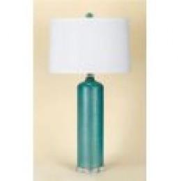 teal lamp