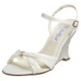 ivory wedge shoes