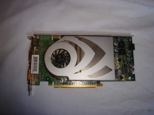An old 7800GT graphics card.