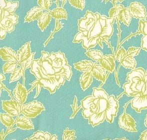 Sample turquoise fabric