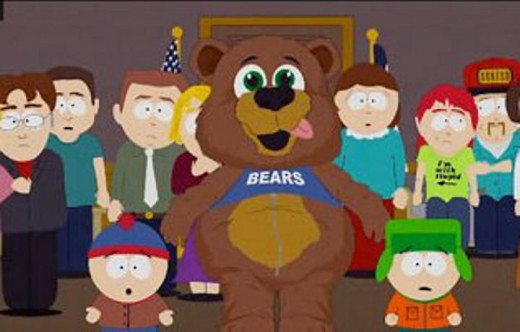 South Park Bear (Who Later Turned Out To Be Santa Claus)