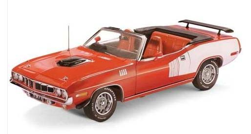 Franklin Mint 1971 Plymouth HEMI Cuda Convertible