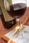 Red wine contains Resveratrol!
