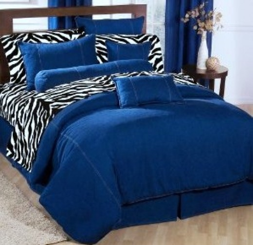 Royal Blue Bedding