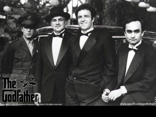 "The Corleone family.  Vito was known as the ""Godfather"""