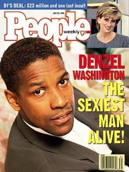 Denzel Washington 1996 Sexiest Man Alive