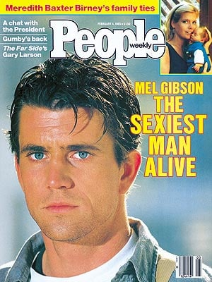 Mel Gibson 1985 Sexiest Man Alive