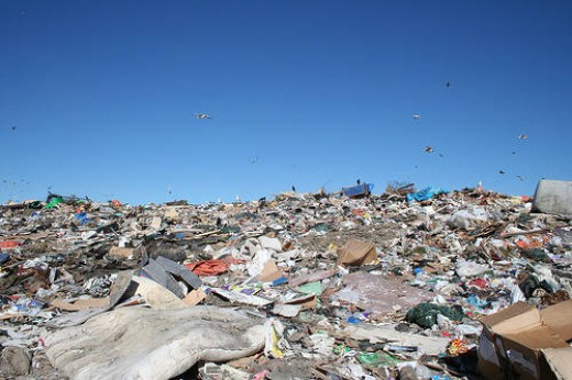 Think or all that we throw away that can be recycled and act as a resource.
