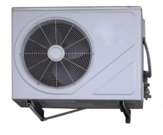 air conditioner (outside condensing unit)