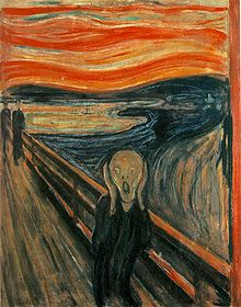 The Scream. Edvard Munch.