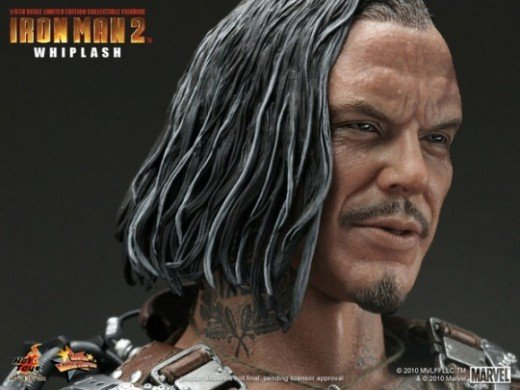 "Hot Toys 12"" Whiplash Action Figure"