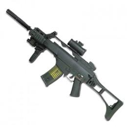 An G36-C airsoft gun.
