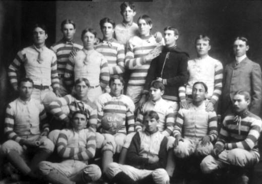 Tom Marshall's Tuscon football team