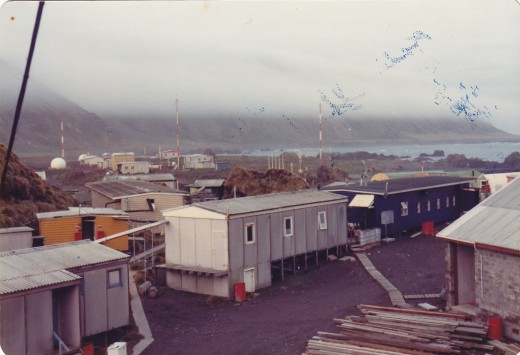1977.  MacQuarie Island. Introspection and poetry go together when the days are short and the nights long