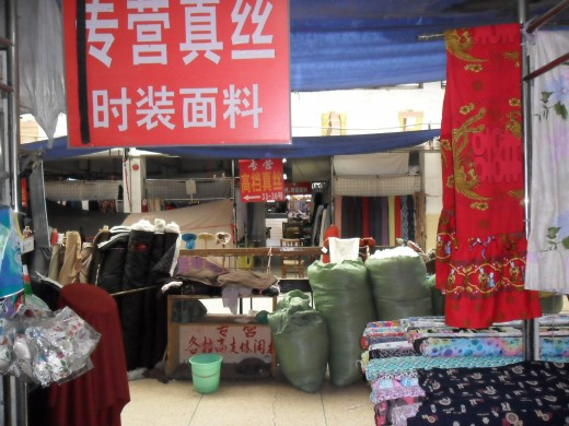 In the Fabric Market
